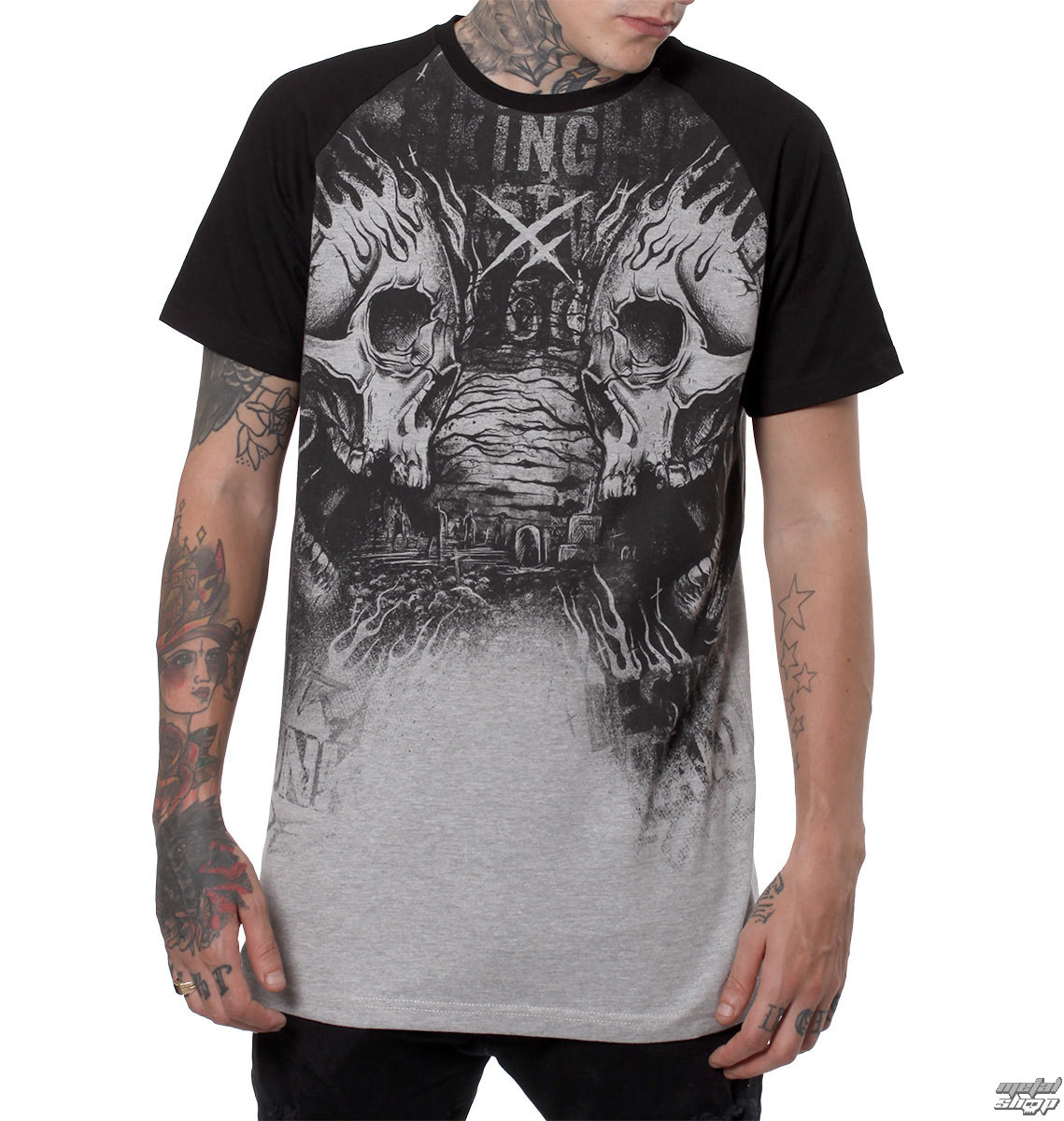 t-shirt hardcore men's - CIMETERY - HYRAW