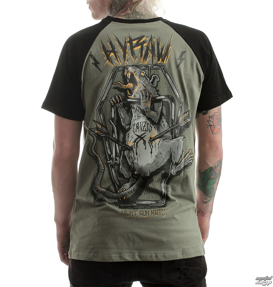 t-shirt hardcore men's - RATS TRAP - HYRAW
