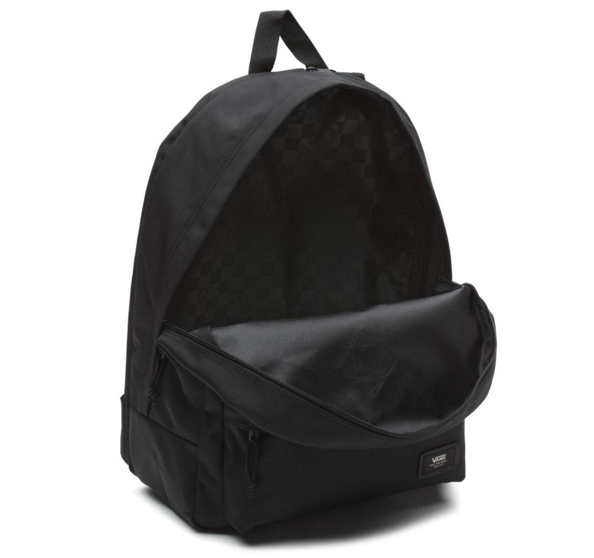 Backpack VANS - MN OLD SKOOL PLUS - Black - VN0002TMBLK - Metal ...