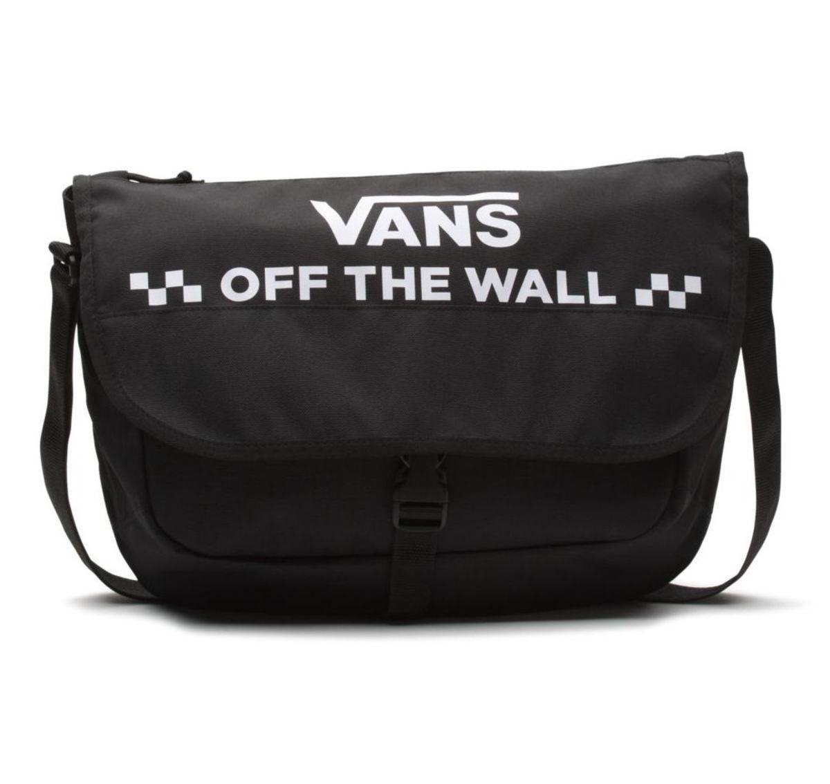 Bag (handbag) VANS - WM COURIER MESSENGER - Black - VN0A3NG6BLK1 ...