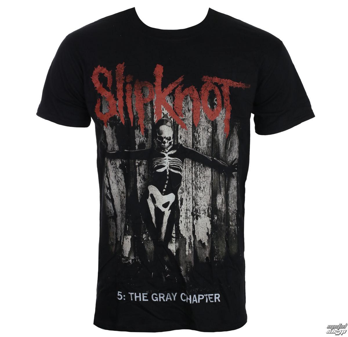 444f077e4f69 tričko pánské Slipknot - Grey Chapter - Blk - ROCK OFF - RCK011 - metal-shop .eu