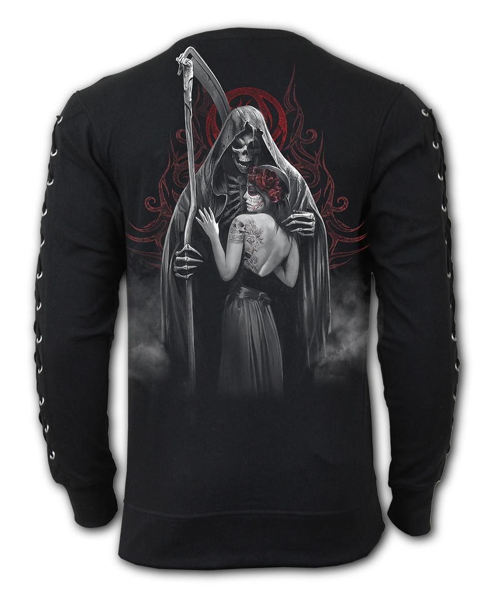 698894c58259 sweatshirt (no hood) men s - DEAD KISS - SPIRAL - D076M325 - metal ...