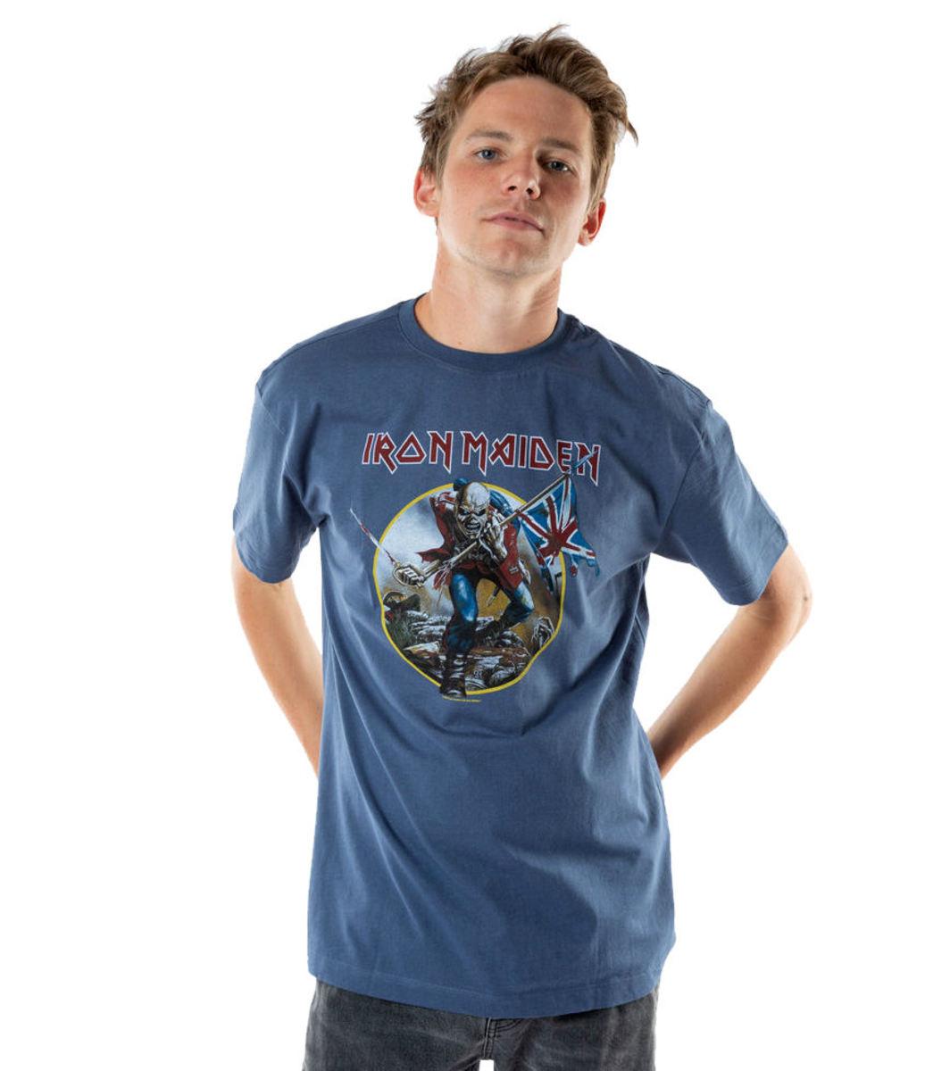 63081940d59 t-shirt metal men s Iron Maiden - AMPLIFIED - AMPLIFIED - Av273TRO ...