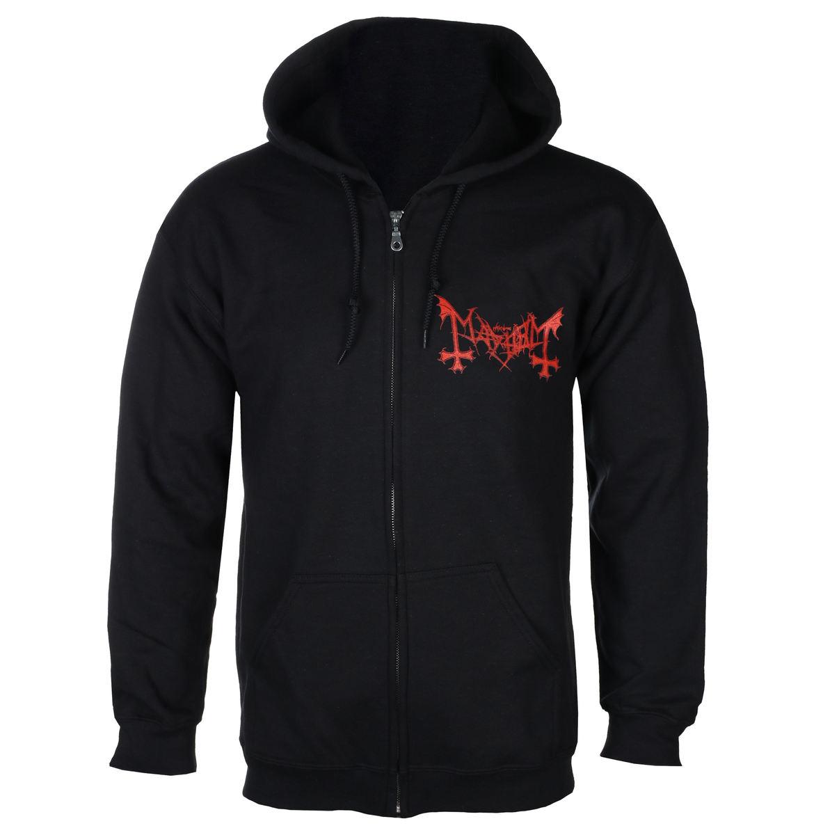 NEW /& OFFICIAL! Mayhem ?Deathcrush/' Zip Up Hoodie