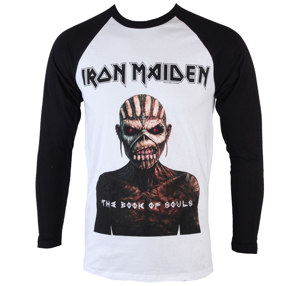t-shirt metal men\'s Iron Maiden - Book Of Souls - ROCK OFF ...