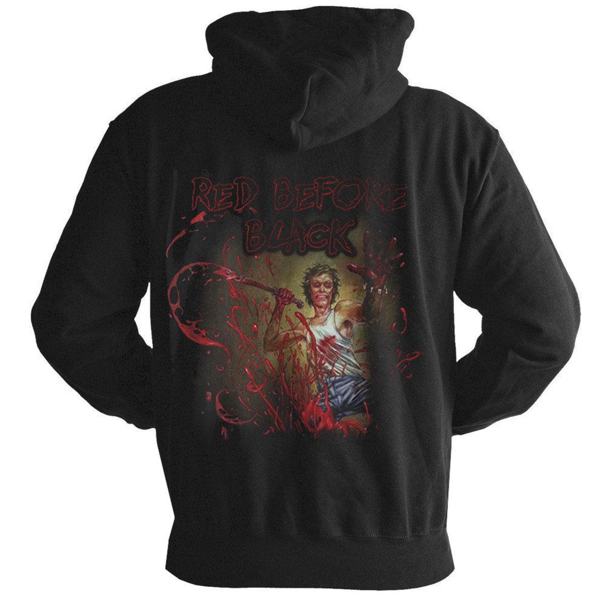 Cannibal Corpse Red Before Black NEW Hooded Sweatshirt