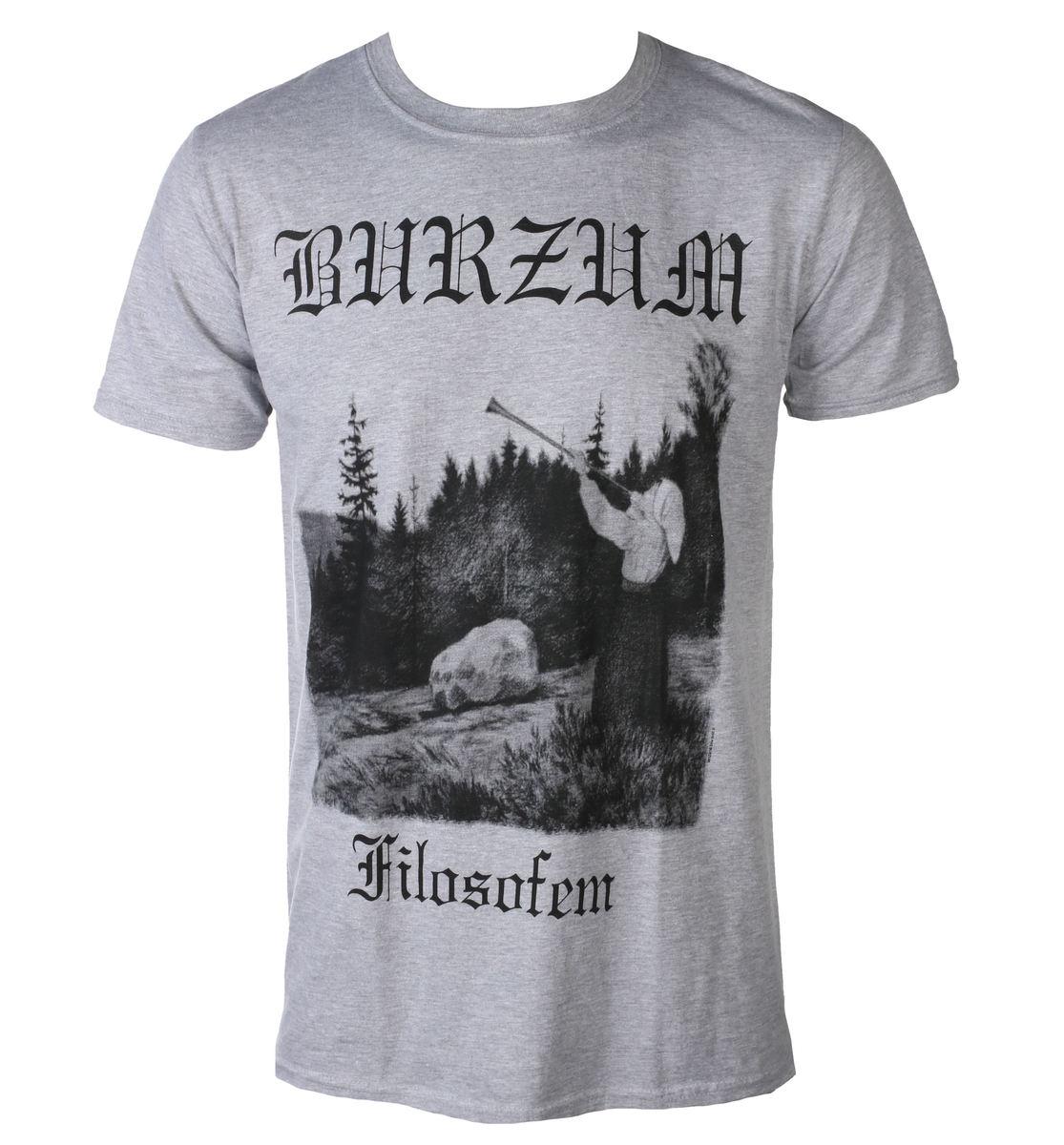 2def8ca3e t-shirt metal men's Burzum - FILOSOFEM 3 2018 - PLASTIC HEAD - PH10860 -  metal-shop.eu
