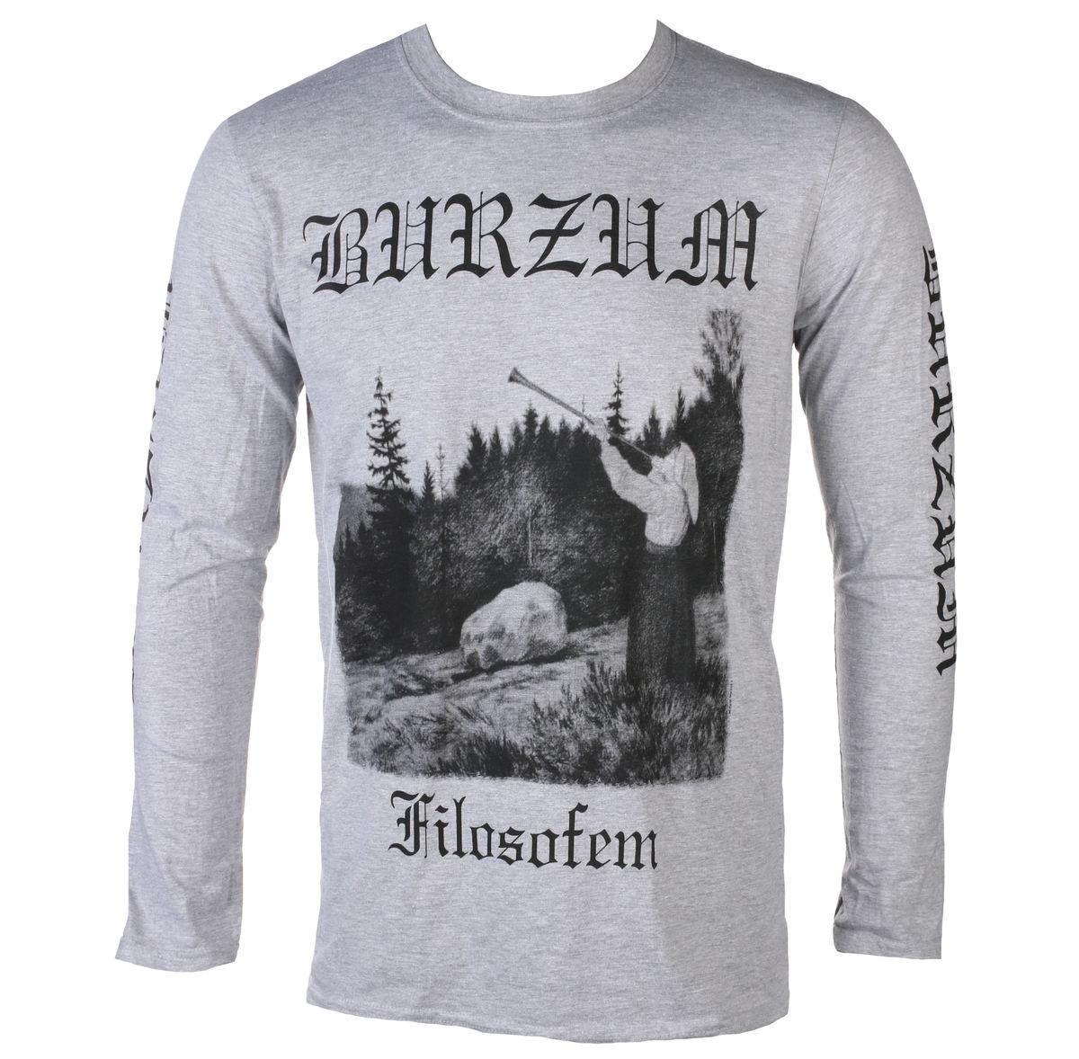 828b4a06c2a7 tričko pánské s dlouhým rukávem BURZUM - FILOSOFEM 3 - PLASTIC HEAD -  PH10860LS - metal-shop.eu
