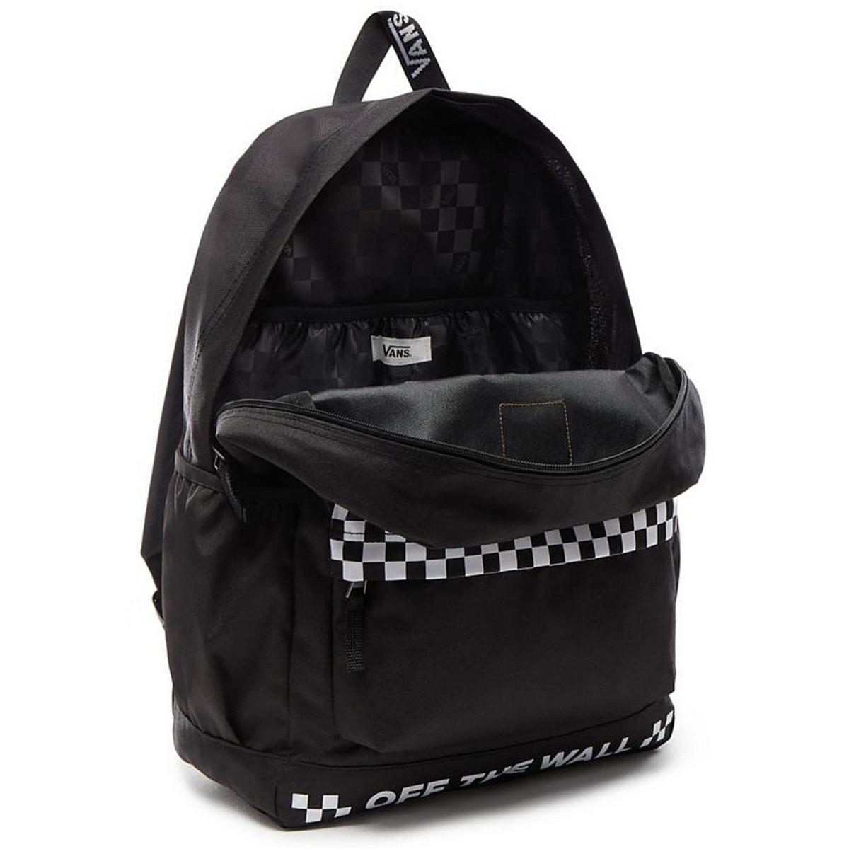 8d8d1f85df Backpack VANS - WM SPORTY REALM PLUS - Black - VN0A3PBIBLK - metal ...