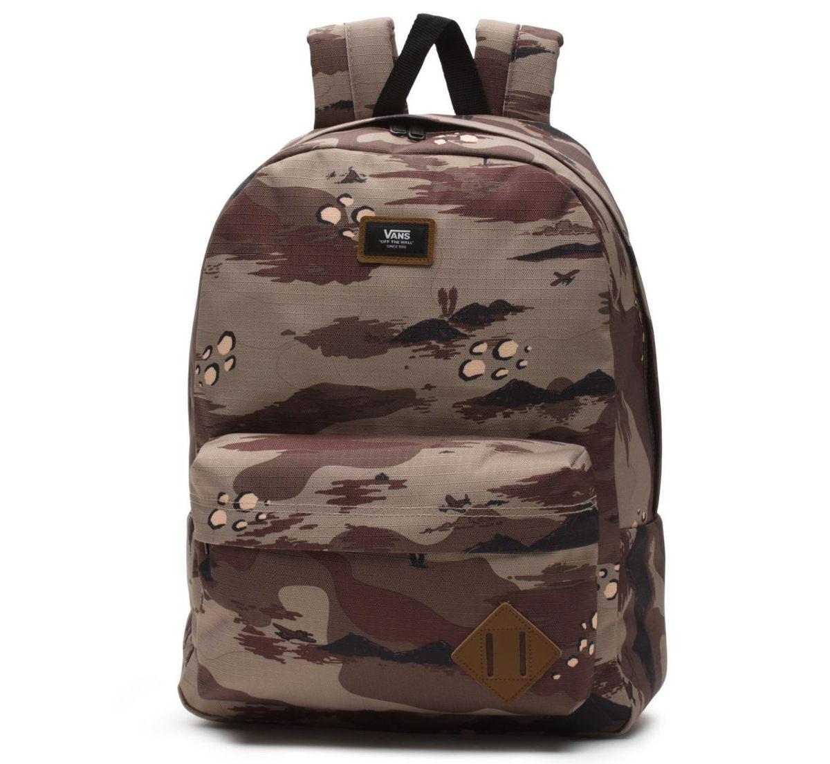4e1616b8bd12de Backpack VANS - MN OLD SKOOL II BACK STORM - CAMO - VN000ONIRV1 ...
