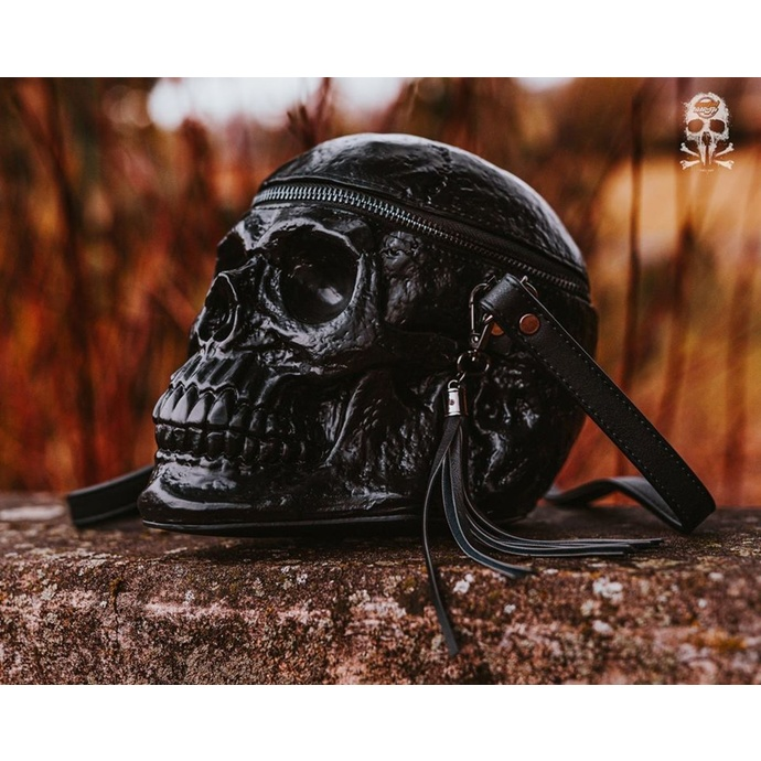 Bag (handbag) KILLSTAR - Grave Digger Skull