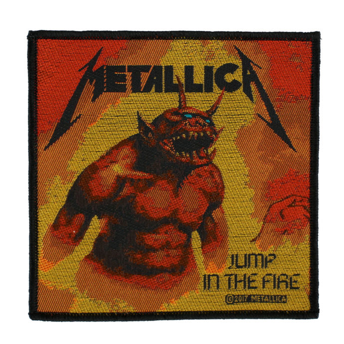 patch METALLICA - JUMP IN THE FIRE - RAZAMATAZ
