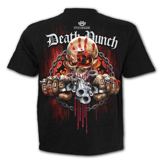 t-shirt metal men's Five Finger Death Punch - Five Finger Death Punch - SPIRAL