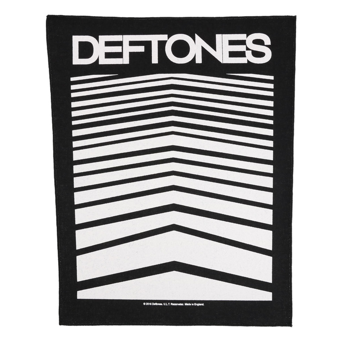 Large patch Deftones - Abstract Lines - RAZAMATAZ