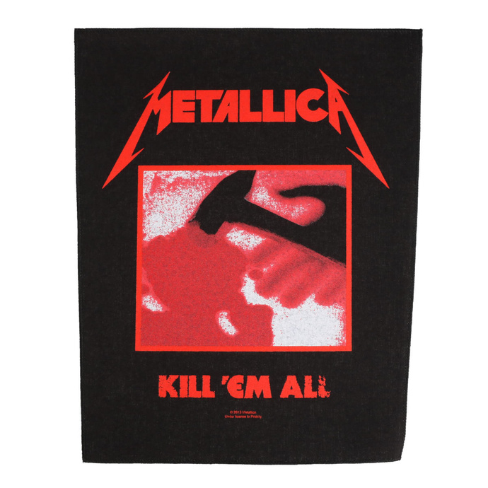 Large patch Metallica - Kill 'Em All - RAZAMATAZ
