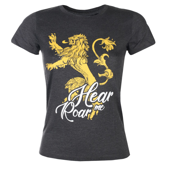 film t-shirt women's Game of thrones - LANNISTER - LEGEND