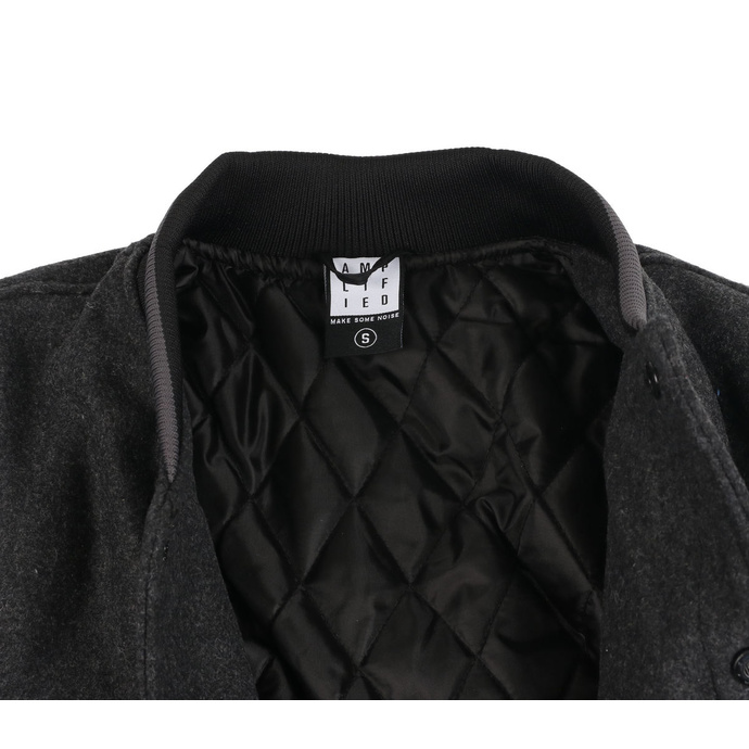 Men's jacket QUEEN - WHITE CREST - CHARCOAL / BLACK - AMPLIFIED