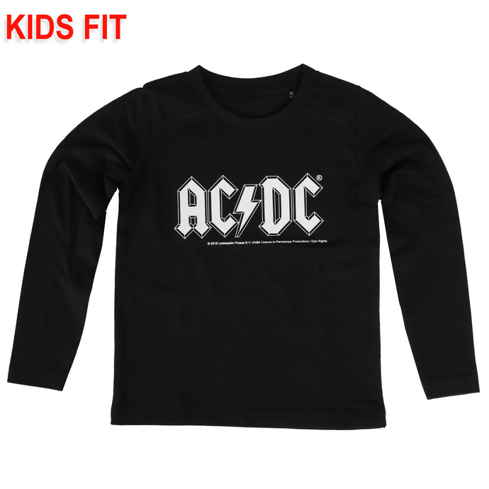 children's t-shirt with long sleeve AC / DC - Logo - Metal-Kids