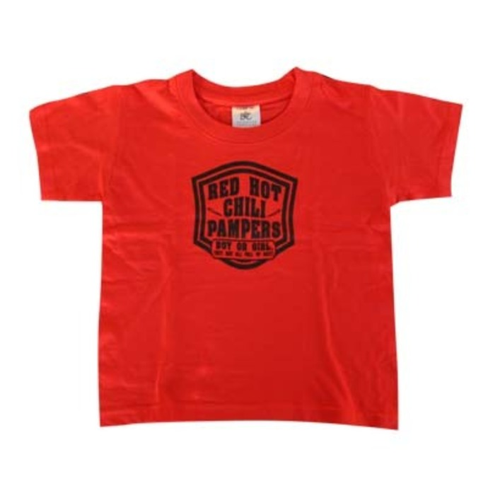t-shirt metal children's - Red Hot Pampers - ROCK DADDY