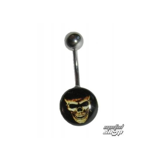 piercing jewel Skull - 1PCS - L 094