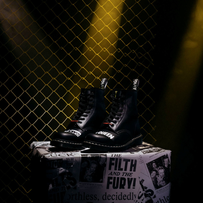 leather boots unisex Sex Pistols - Dr. Martens