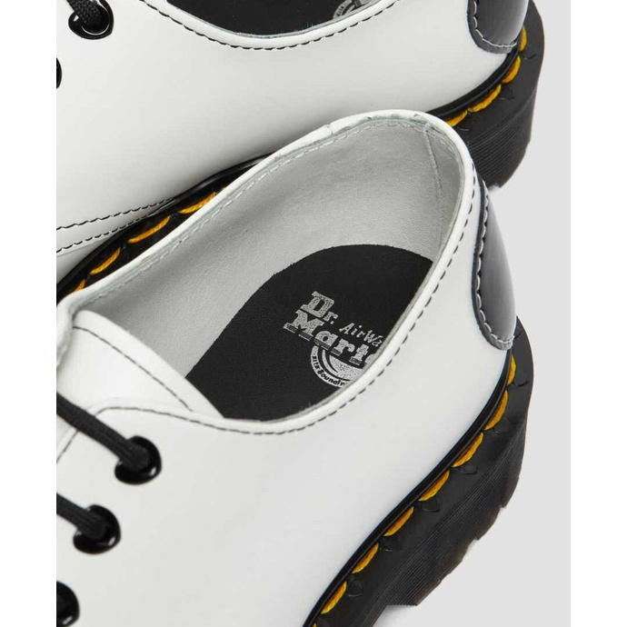 Women's boots DR. MARTENS - 1461 Hearts - white / black