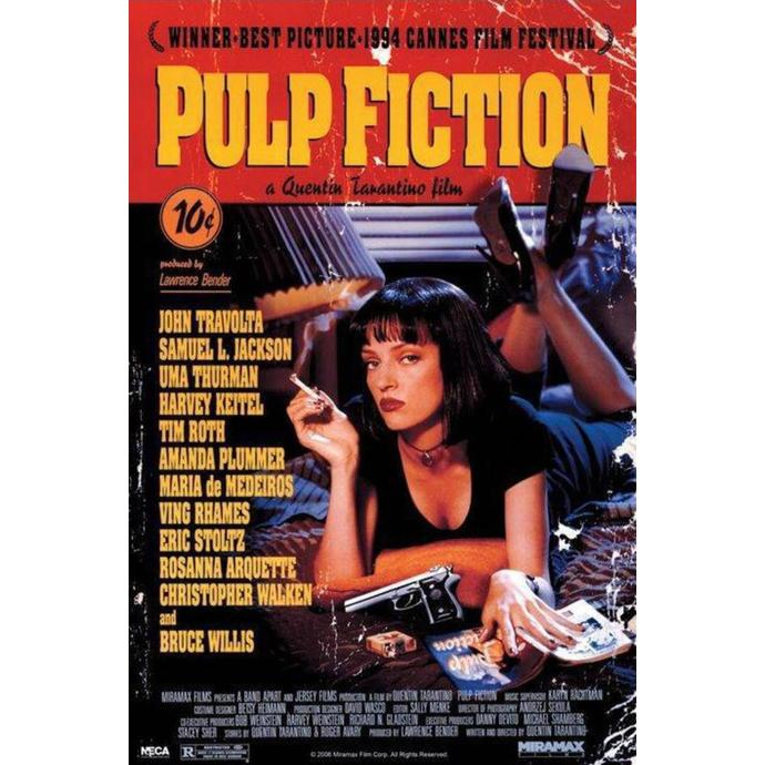 poster Pulp Fiction (Cover) - PP30791