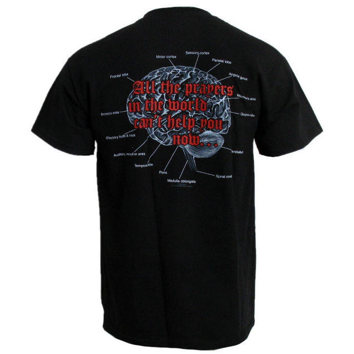 t-shirt metal men's Death - Spiritual Healing - RAZAMATAZ