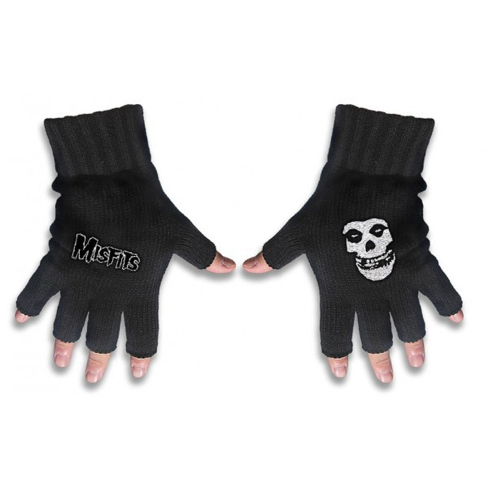gloves fingerless Misfits - Misfits Logo and Fiend