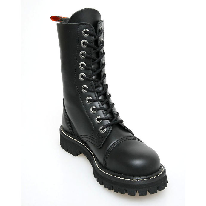 leather boots - KMM - Black