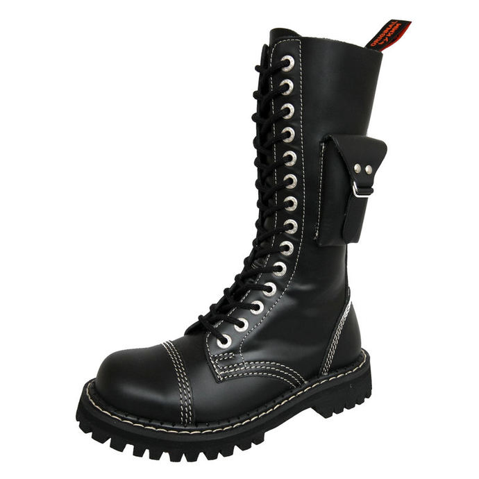 leather boots - - KMM