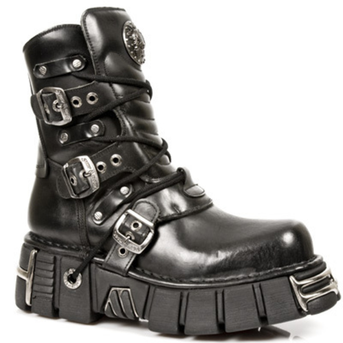 leather boots - 1010-S1 - NEW ROCK