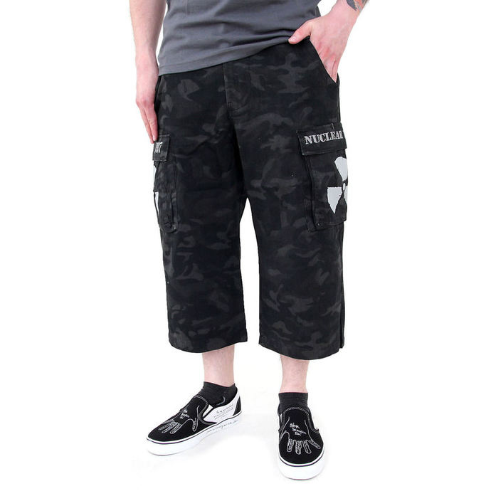 shorts men Black Camouflage - NUCLEAR BLAST