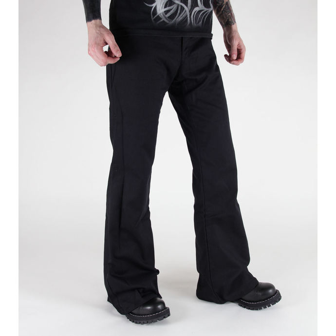 pants Black Pistol - Loon Hipster Denim Black
