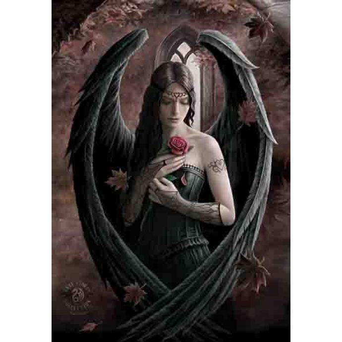 flag Anne Stokes - Angel Rose