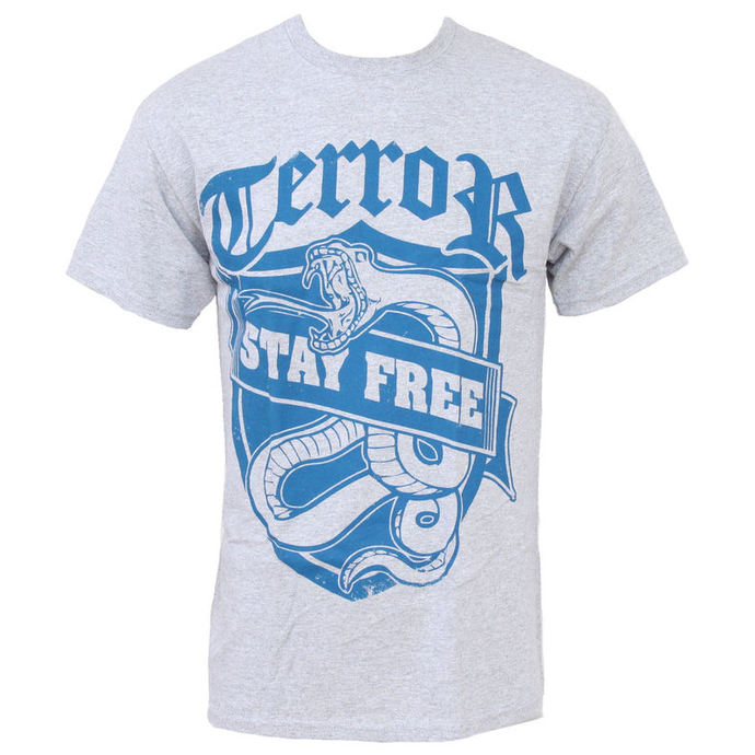 t-shirt metal men's Terror - Stay Free - Buckaneer