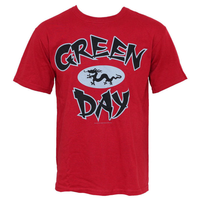 t-shirt metal men's Green Day - Ghina Dragon - BRAVADO