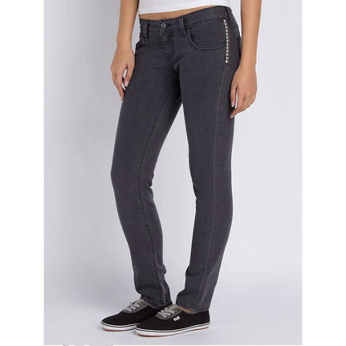 pants women VANS - Skinny Ankle Denim - Charcoal