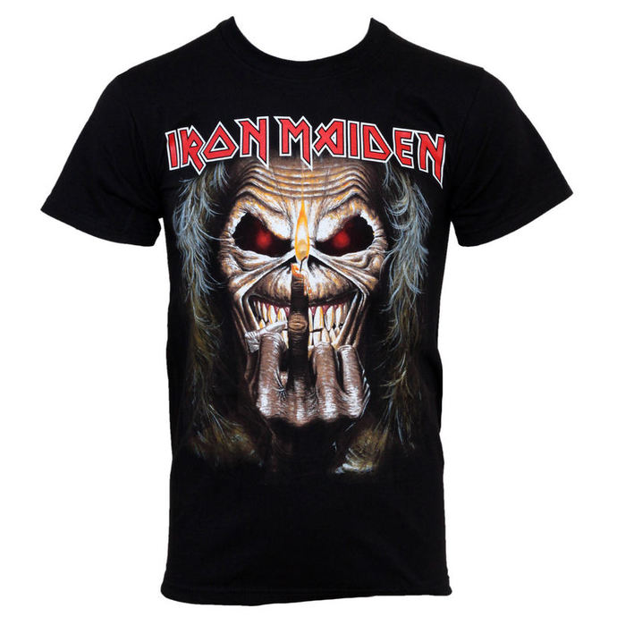t-shirt metal Iron Maiden - Eddie Candle - ROCK OFF