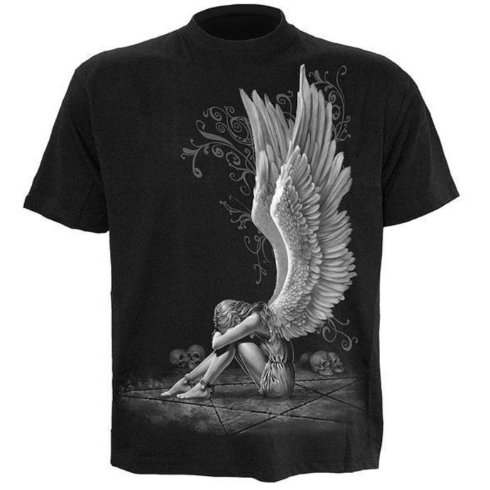 t-shirt men's - Enslaved Angel - SPIRAL
