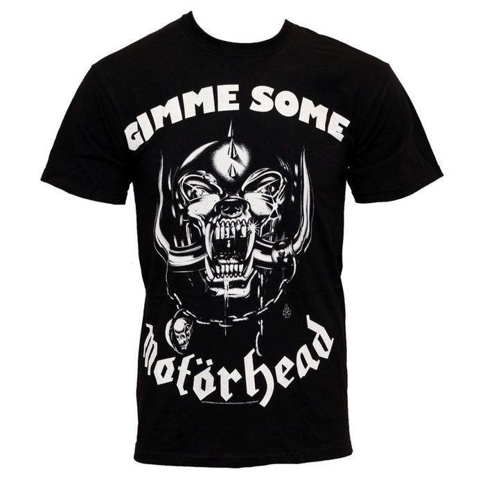 t-shirt metal Motörhead - Gimme Some - ROCK OFF