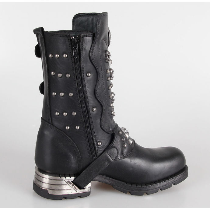 leather boots women's - NEW ROCK