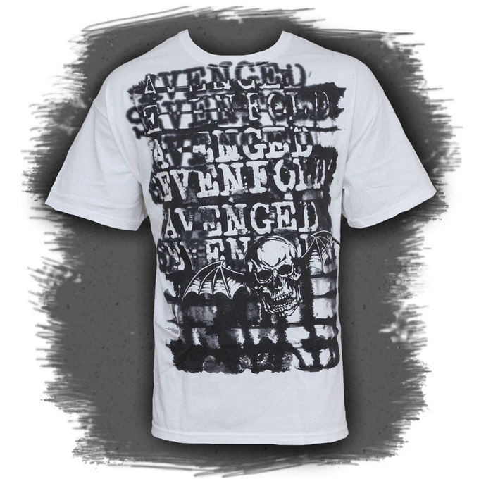 t-shirt metal men's Avenged Sevenfold - Ink Stripes - BRAVADO