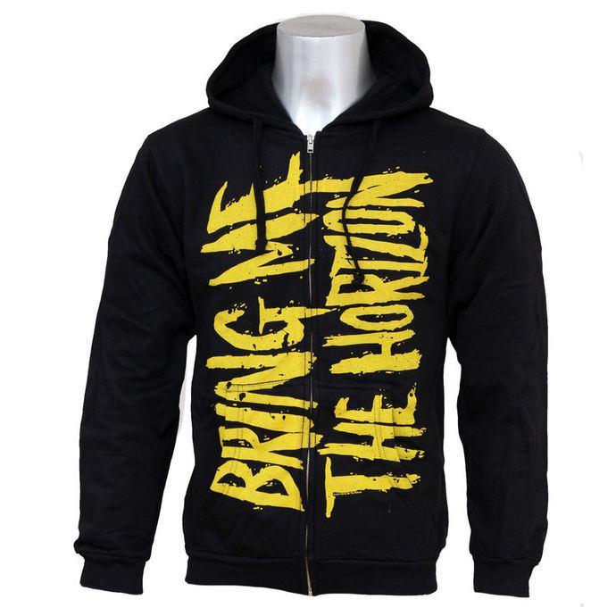 hoodie mens Bring Me The Horizon - BMTH Logo - Bravado USA - metal