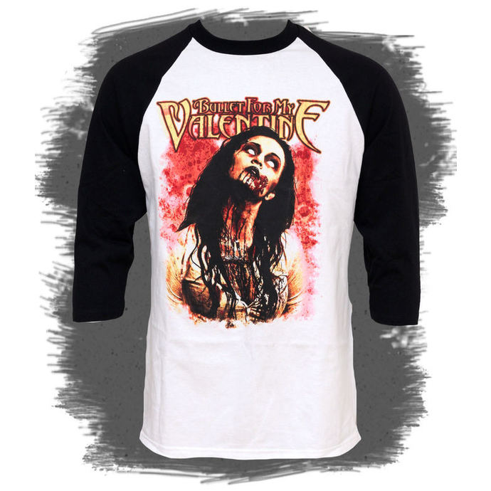 t-shirt metal men's Bullet For my Valentine - Dead Girl - BRAVADO