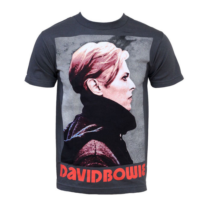 t-shirt metal David Bowie - Low Profile - BRAVADO
