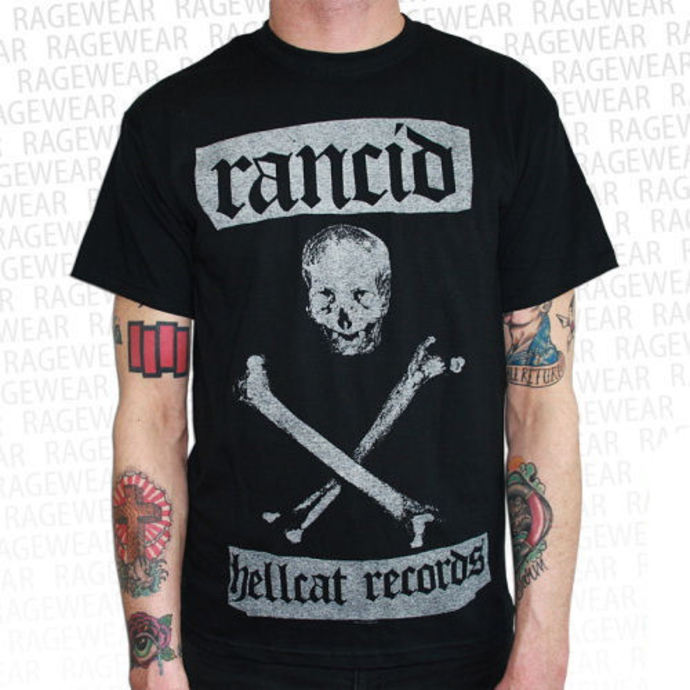 t-shirt metal men's Rancid - Hellcat - RAGEWEAR