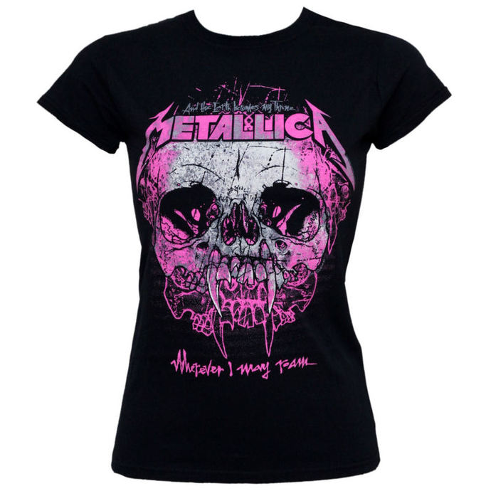 t-shirt metal women's Metallica - Wherever I May Roam - NNM