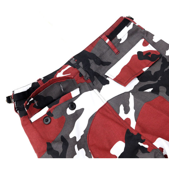 pants men US BDU - RED-CAMO