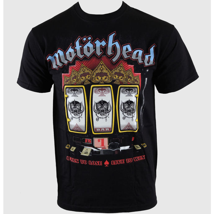 t-shirt metal men's Motörhead - Slots - ROCK OFF
